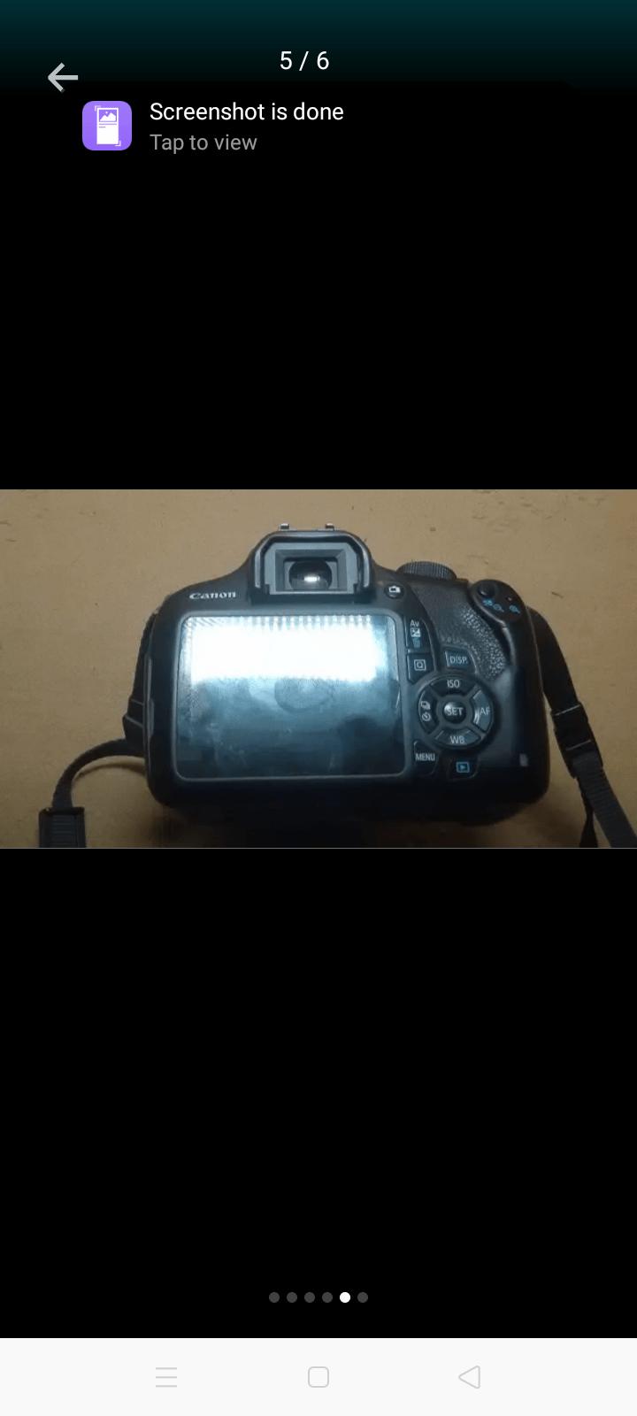 DSLR Canon 1200D