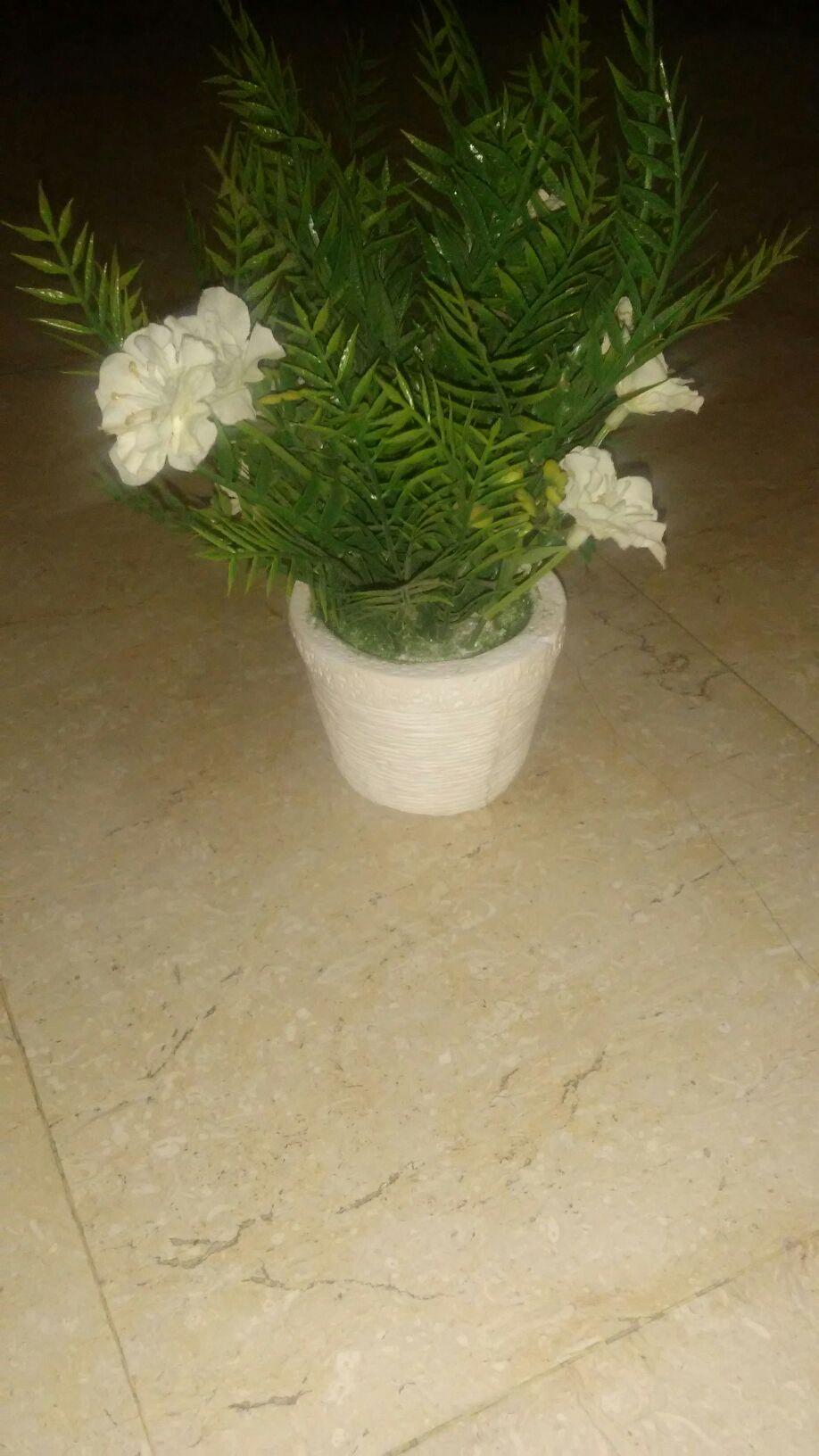 Artificial plant pot small