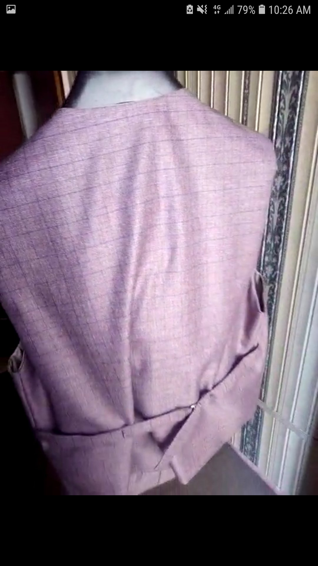 3 piece suit for men in gorgeous condition
