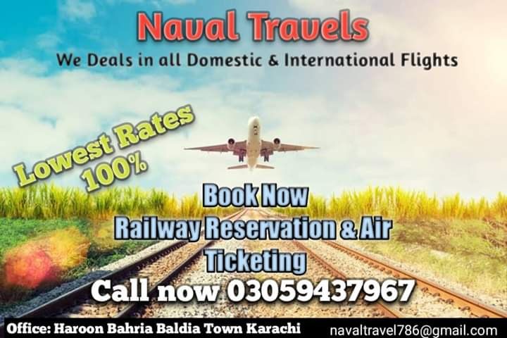 Tickets Naval Travels
