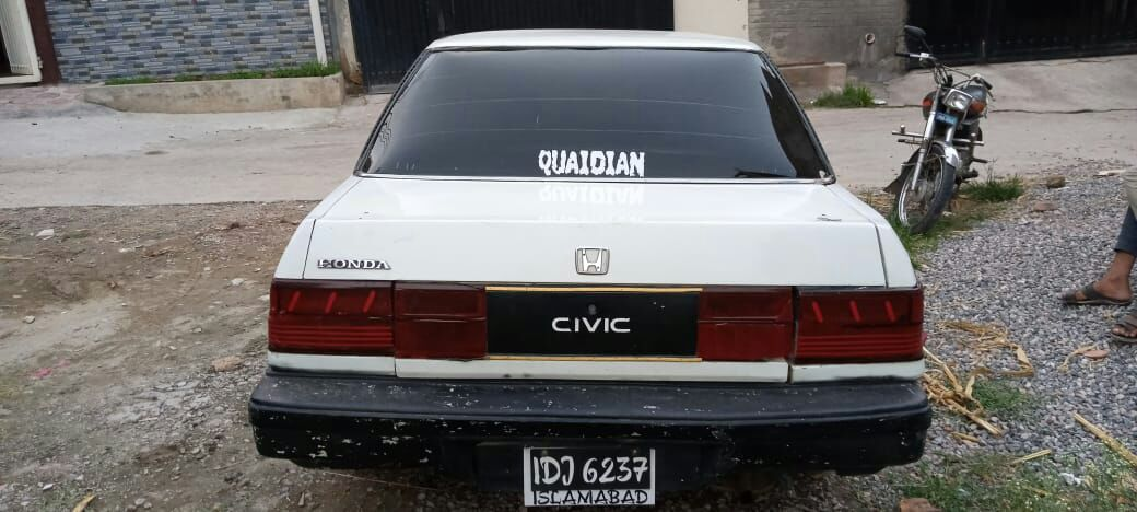 Honda civic 1986 for rent in cheapest Price