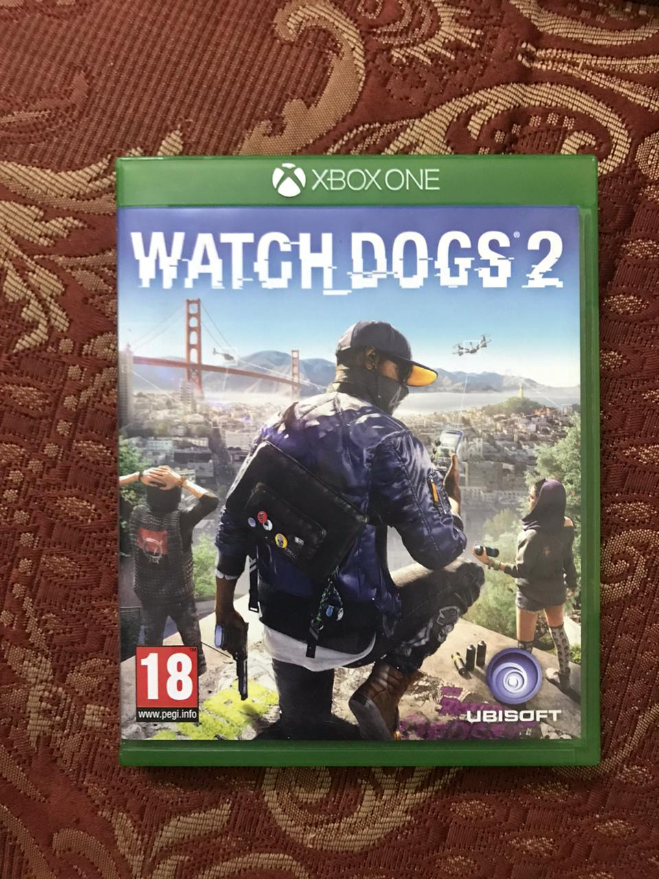 Watch dogs 2 xbox-one