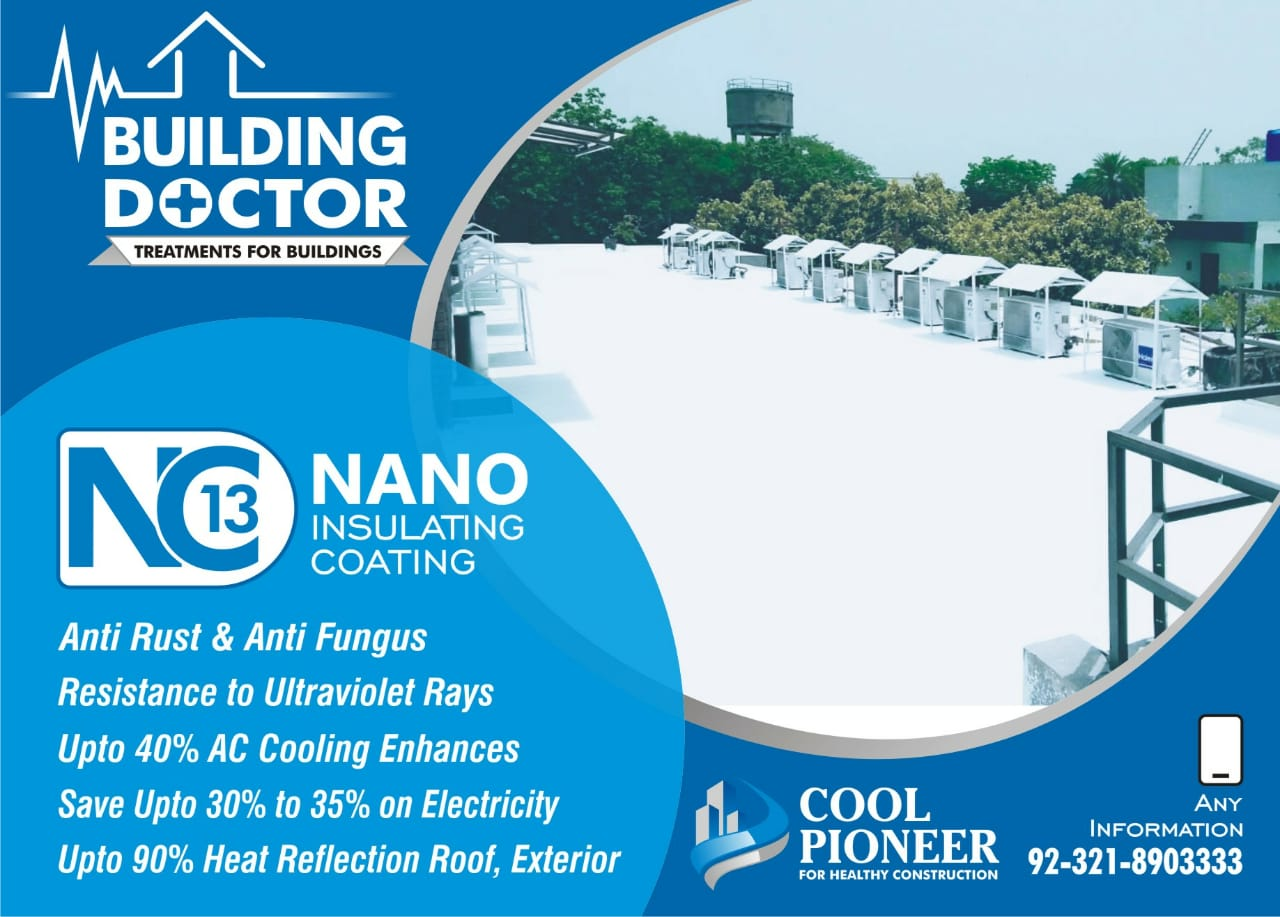 Heat Proofing Roof,Walls & Many Places