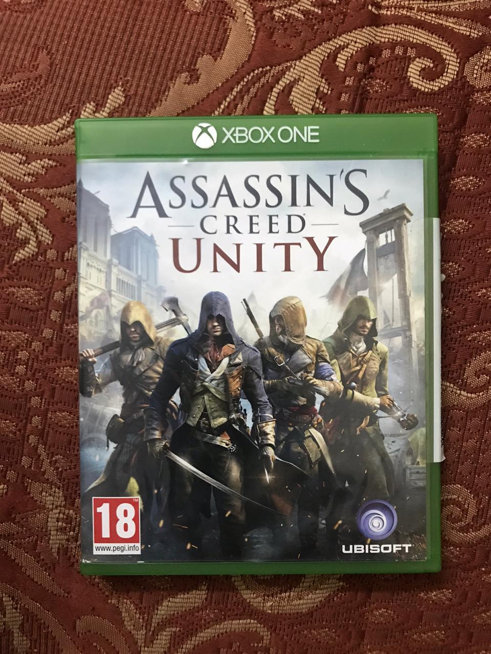 Assasin creeds(Unity) X-box one