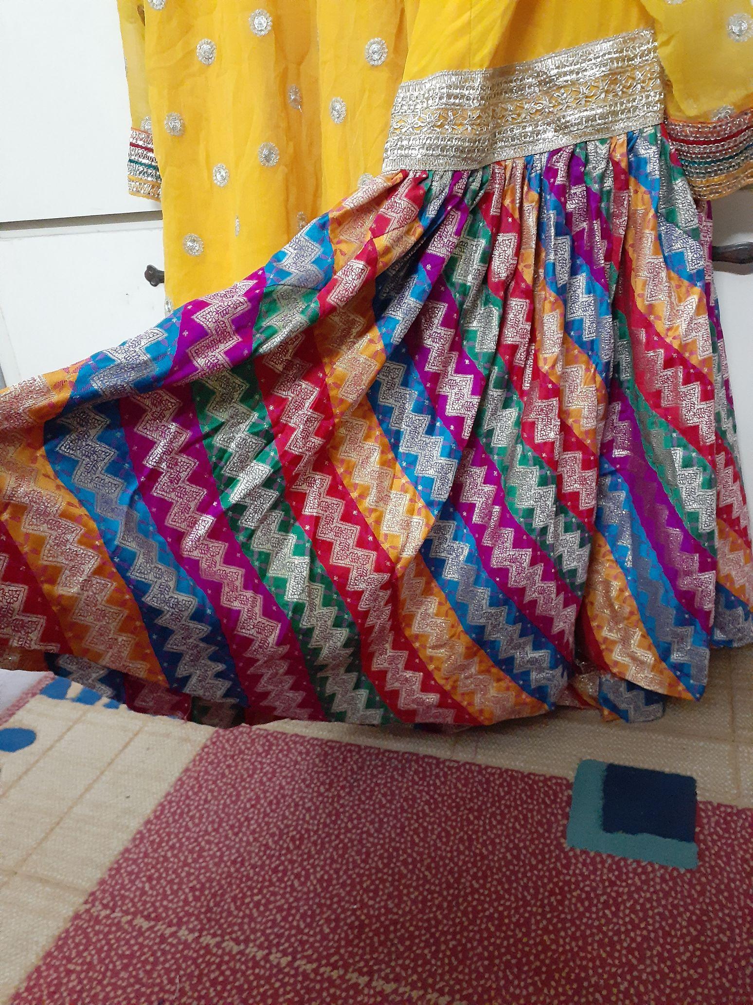 Maiyoo Gharara Dress