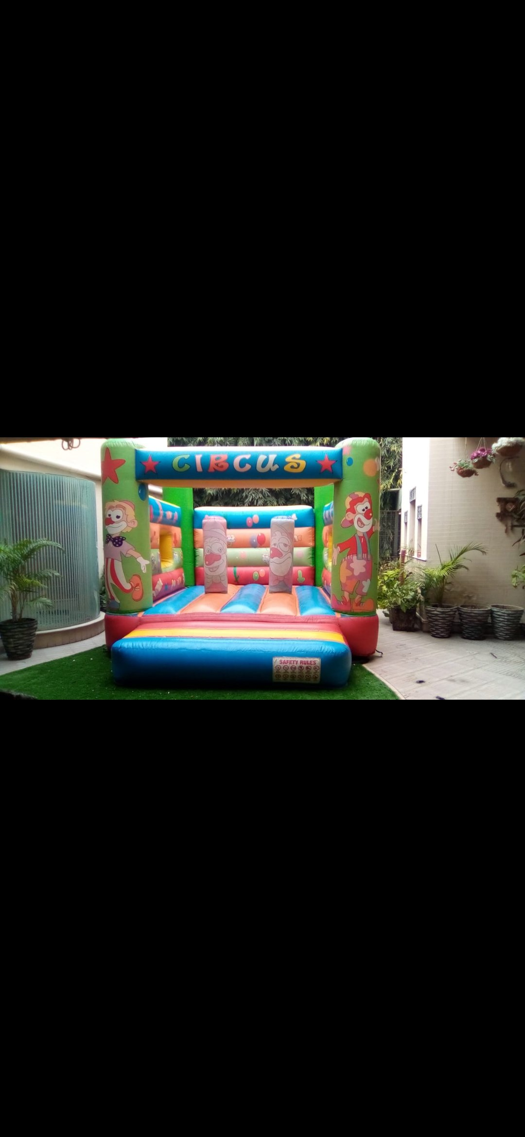 jumping castle for birthday events