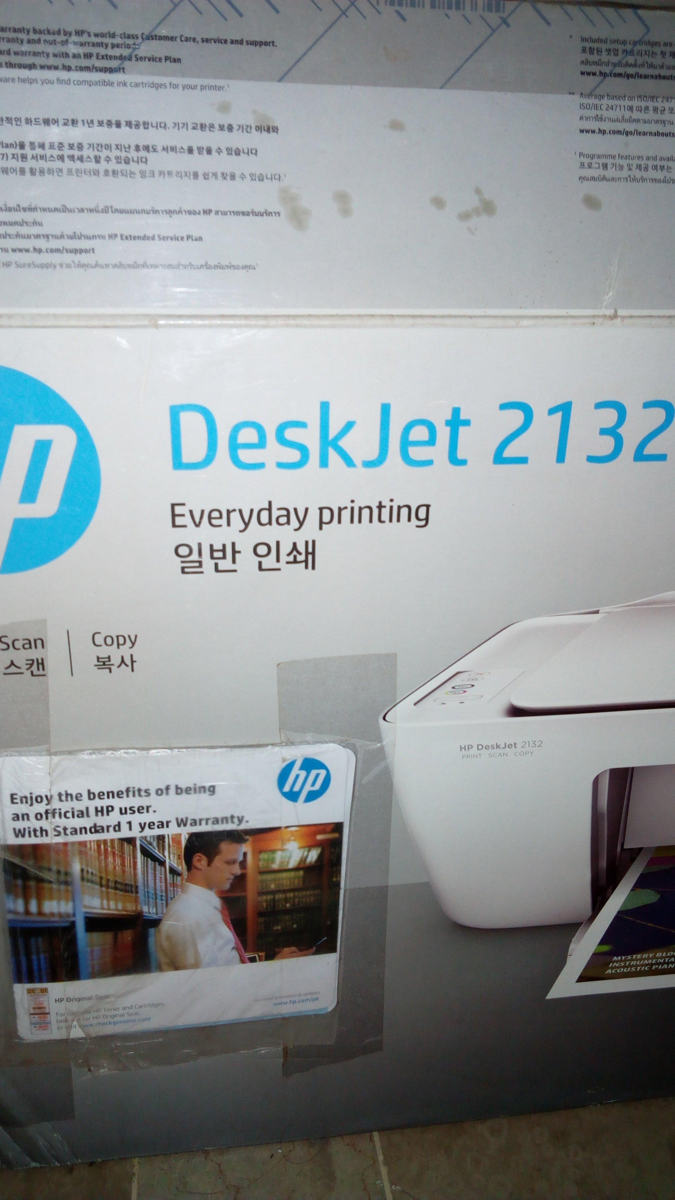 Printer deskjet 2132