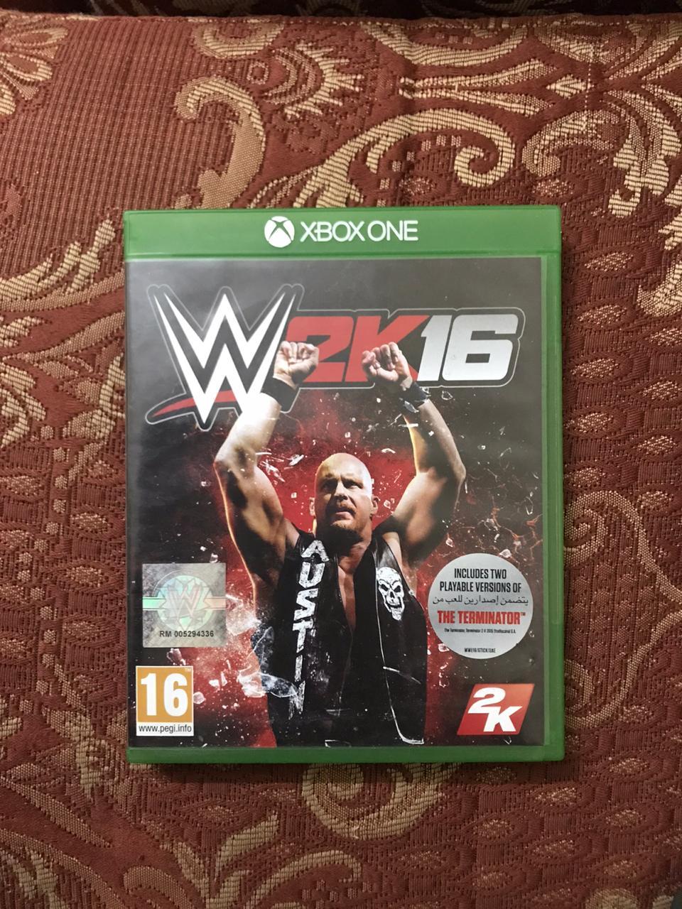 WWE 2k16 xbox-one