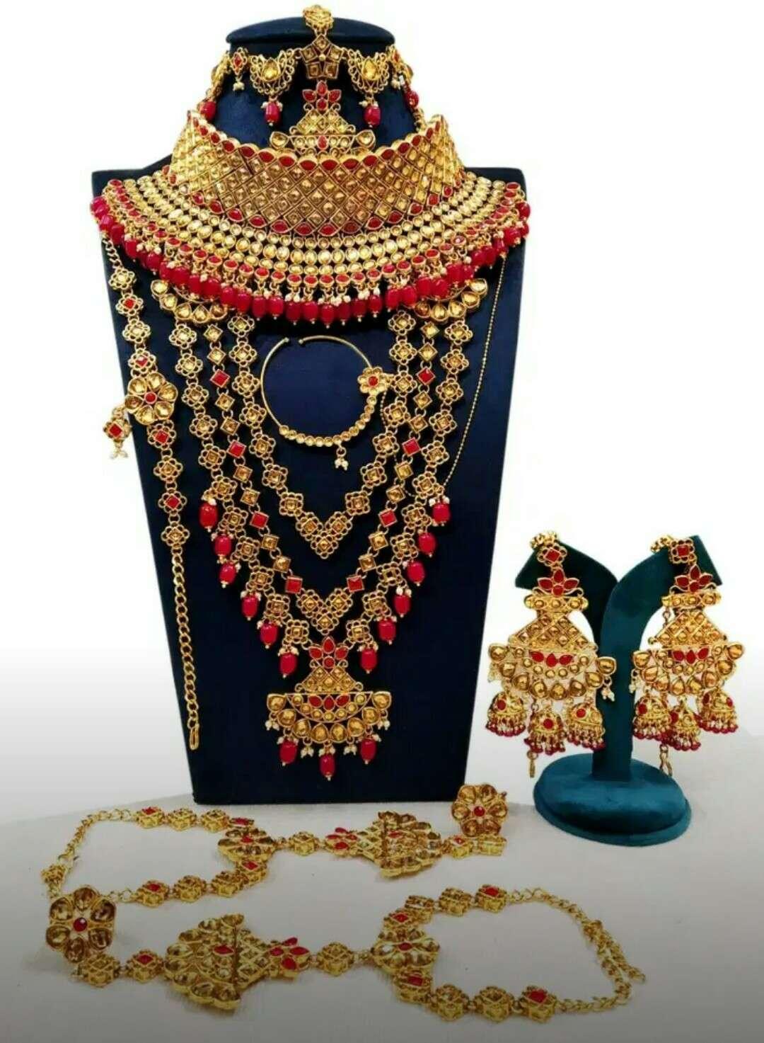 Bridal Jewellery Bahubali Style