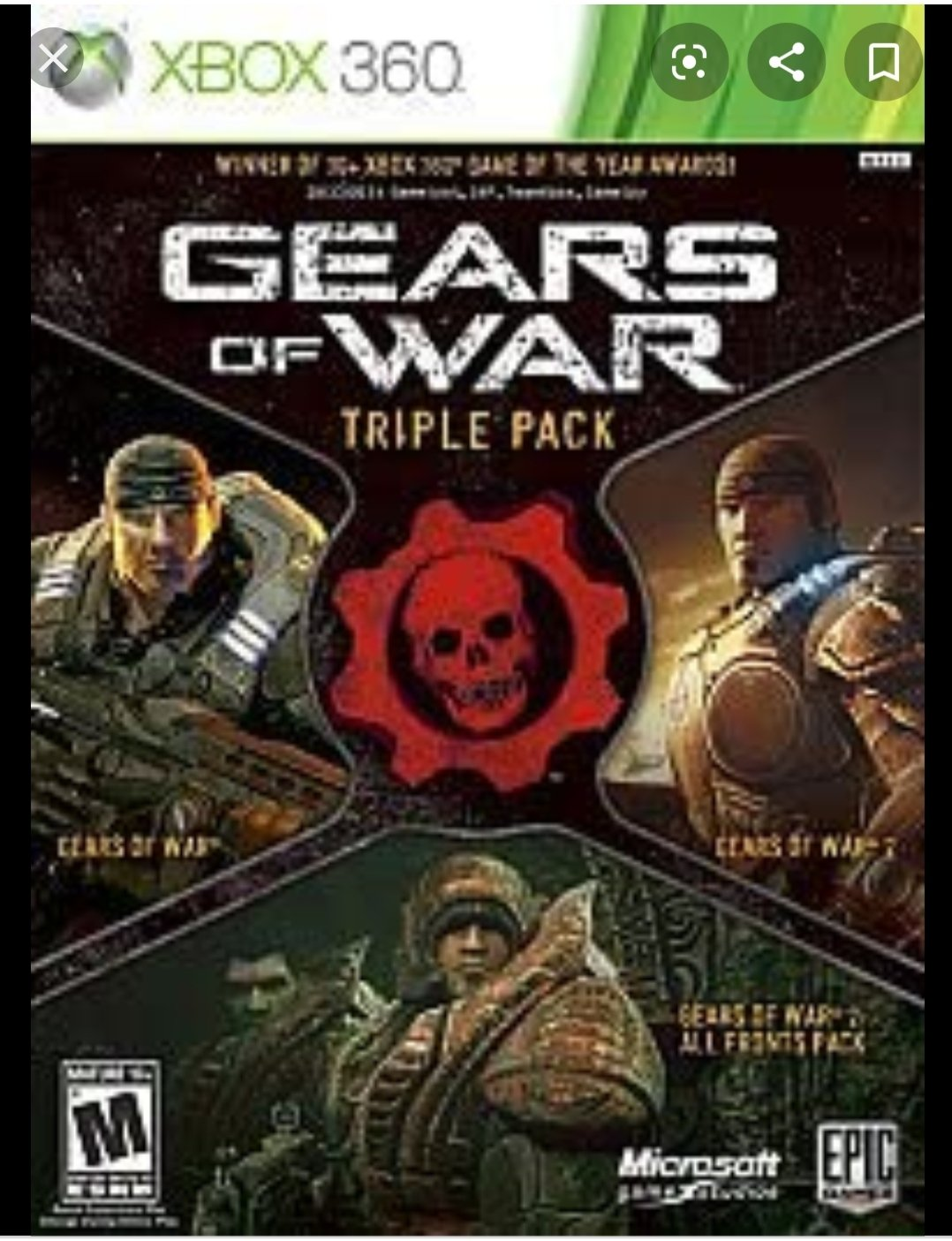 Gears of War 1 and 2 Special Pack